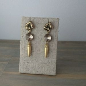 Gold/Rose Gold earrings